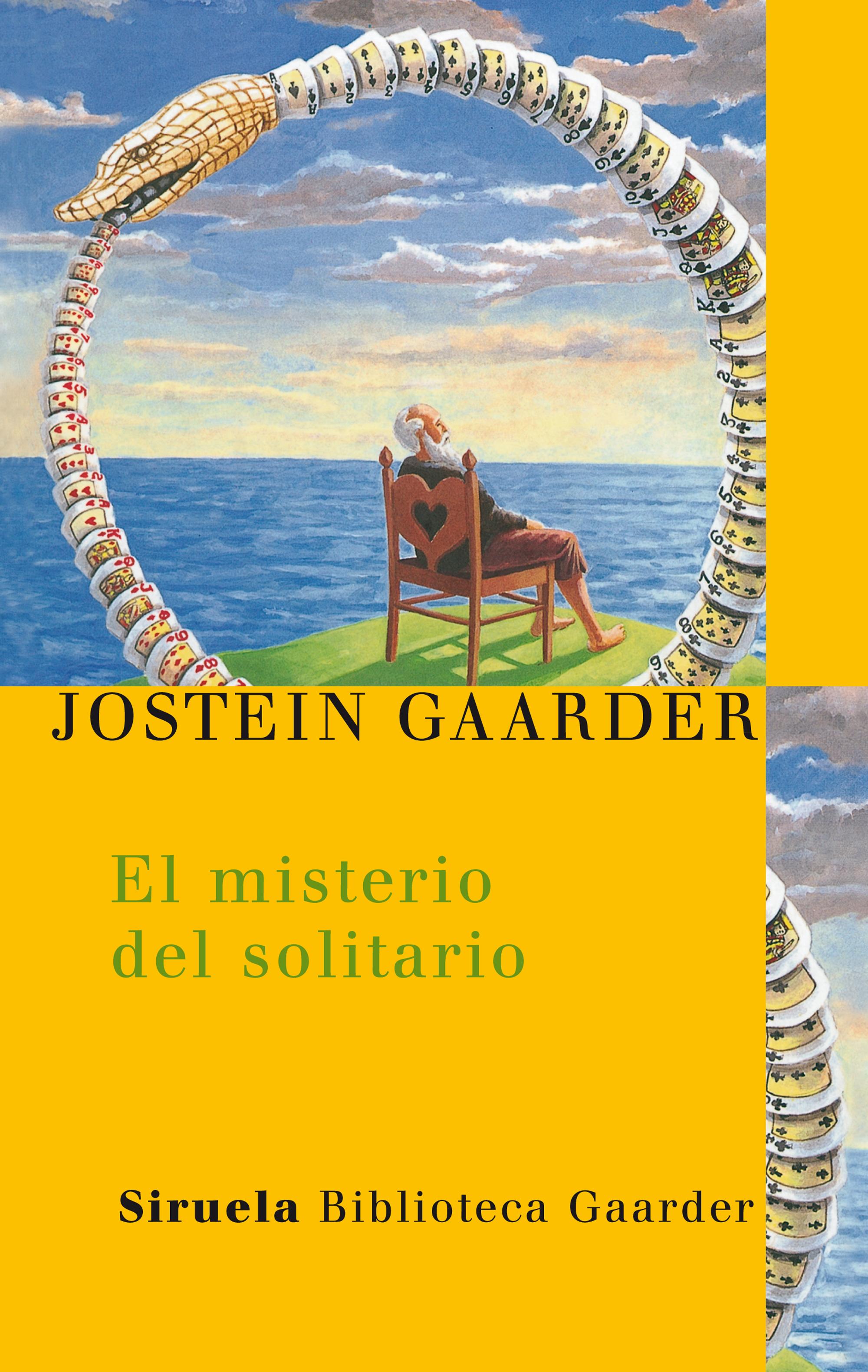 Resultado de imagen para caratula libro El misterio del solitario jostein gaarder